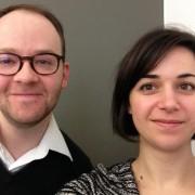 Amélie Roux et Antoine Matter