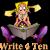 Write 4 Ten