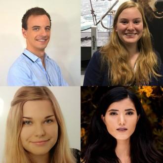 Ragnar Sieradzinski, Jaqueline Kaldewey, Lisa-Marie Pohlmann, Fatema Sultani