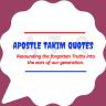 ApostleTakimQuotes