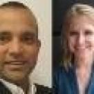 Prateek Sinha and Sally Stuart